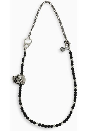 Alexander McQueen Snake skull beaded necklace