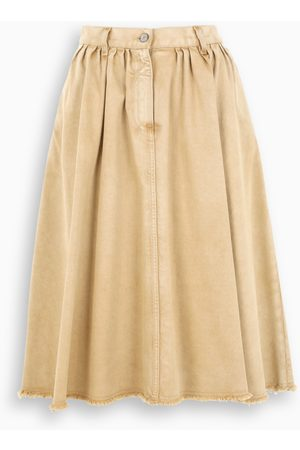 Golden Goose Light brown midi skirt