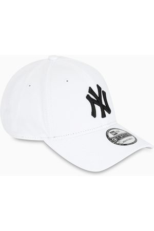 New Era White/black NY baseball cap