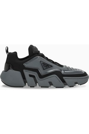 Prada Black/grey Tecno Stretch sneakers