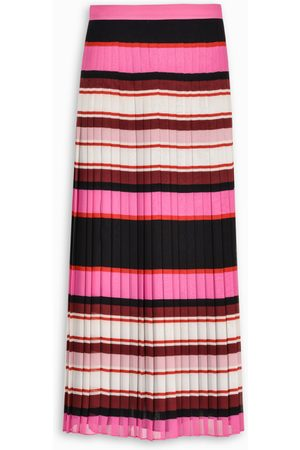 VALENTINO Striped long skirt