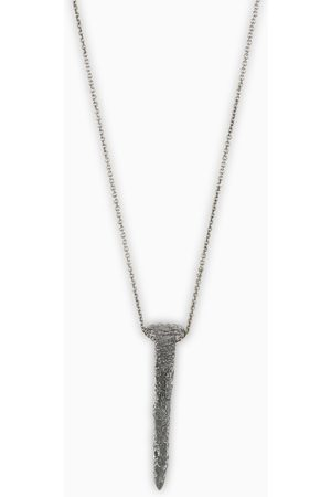 NOVE25 Wedge pendant Materic necklace