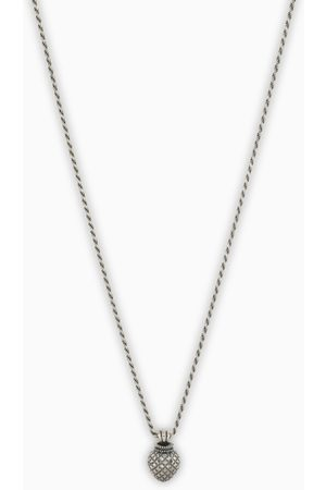 EMANUELE BICOCCHI Silver necklace with charm