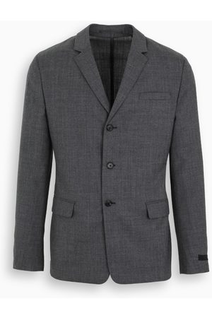 Prada Gray single-breasted jacket