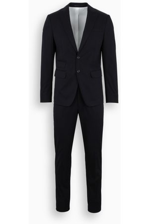 Dsquared2 Navy single-breasted suit