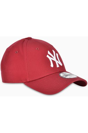 New Era Red/white NY cap