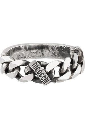 EMANUELE BICOCCHI Chain ring with seal logo