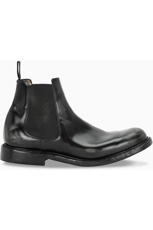 Church's Black leather boots