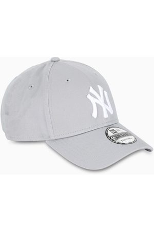 New Era Grey/white NY baseball cap