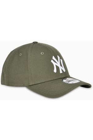 New Era Green/white NY cap