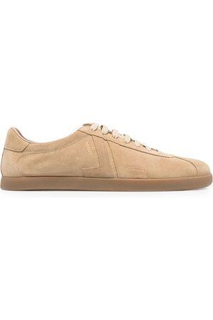 LANVIN Sneakers mit Kontrasteinsätzen - Nude