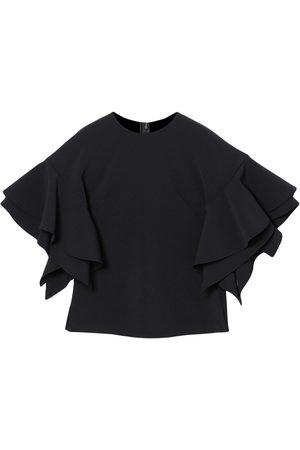 Carolina Herrera Ruffle-sleeve blouse