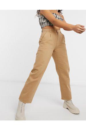 Minga Hoch taillierte Mom-Denim-Jeans in