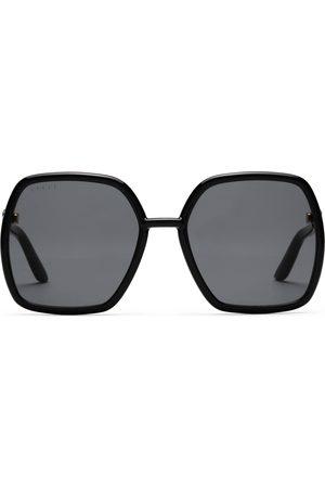Gucci Sonnenbrillen - Sonnenbrille mit eckigem Rahmen