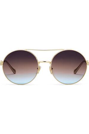 Gucci Sonnenbrillen - Sonnenbrille mit rundem Rahmen