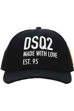 Dsquared2 Herren Hüte - Dsq2 Embro Cotton Gabardine Baseball Hat