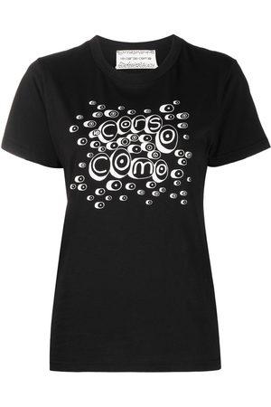 10 CORSO COMO T-Shirt mit Logo-Print