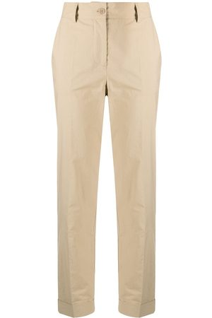 P.a.r.o.s.h. Canyon cropped cotton trousers
