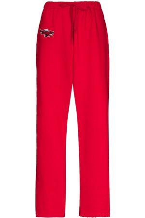 Natasha Zinko Car cotton track pants