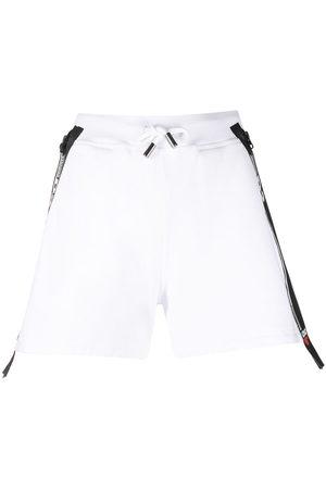 Dsquared2 Logo-tape cotton shorts