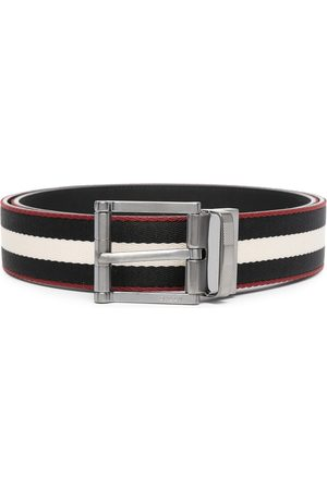 Bally Taylan striped belt