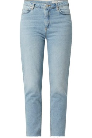 Review Cropped Jeans mit Stretch-Anteil