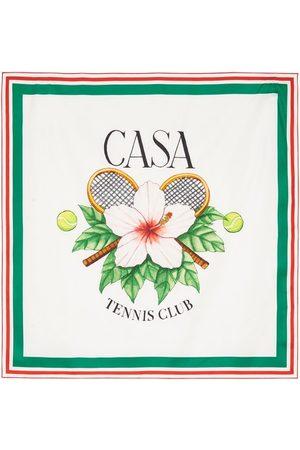 Casablanca Herren Schals - Seidenschal Casa Tennis Club