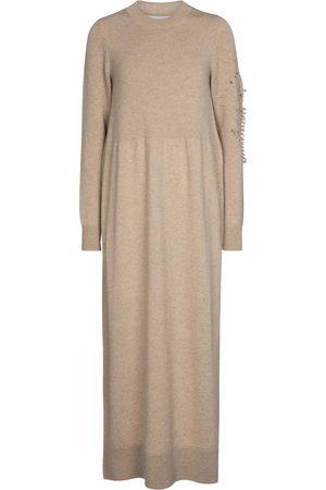 Barrie Damen Lange Kleider - Maxikleid aus Kaschmir