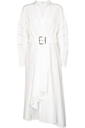 Brunello Cucinelli Hemdblusenkleid aus Baumwolle