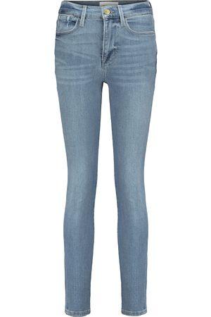 Frame Damen High Waisted - High-Rise Jeans Le High Skinny