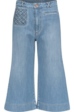 See by Chloé Damen High Waisted - High-Rise Flared Jeans