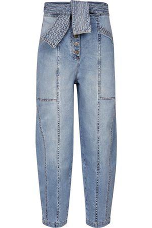 ULLA JOHNSON High-Rise Straight Jeans Otto