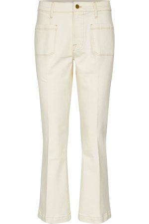 Frame High-Rise Flared Jeans Le Bardot