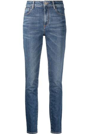 The Attico Taillenhohe Skinny-Jeans