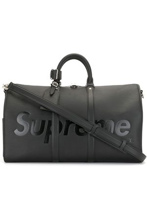 LOUIS VUITTON X Supreme 2017 pre-owned Epi Keepall Bandouliere Reisetasche