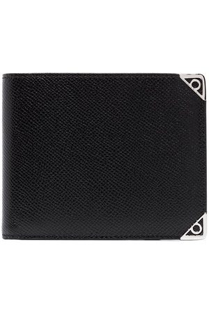 Salvatore Ferragamo Black Gancini slim leather wallet