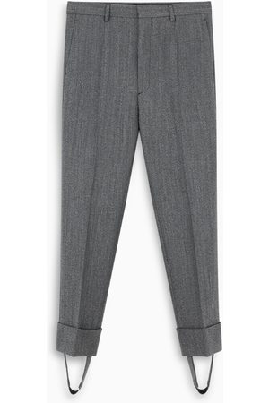 Prada Grey tailored trousers