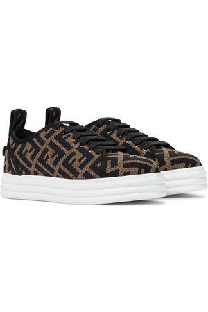 Fendi Plateau-Sneakers Rise aus Mesh