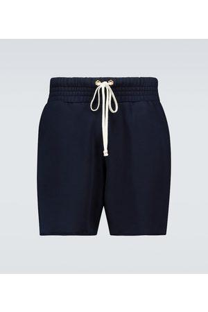 Les Tien Baumwoll-Jersey-Shorts Yacht