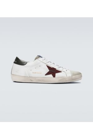Golden Goose Distressed-Sneakers Superstar