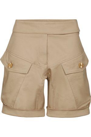 ALEXANDRE VAUTHIER Shorts aus Baumwoll-Twill