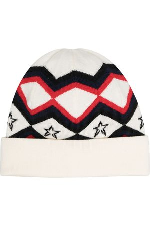 Perfect Moment Beanie mit Muster - Nude