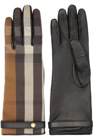Burberry Karierte Handschuhe