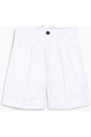 Dsquared2 White pleated shorts