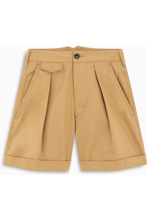 Dsquared2 Camel pleated shorts