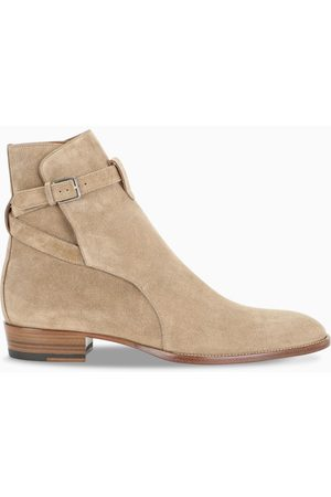 Saint Laurent Wyatt Jodhpur ankle boots