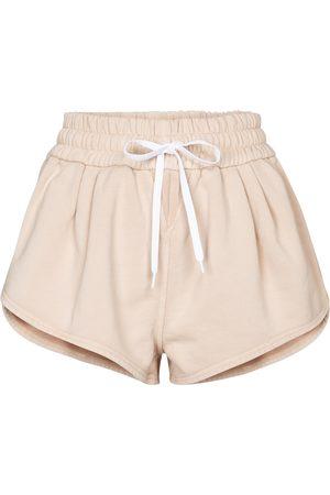 Miu Miu Damen Shorts - Shorts aus Baumwoll-Jersey