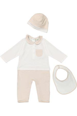 Fendi Baby Outfit Sets - Baby Set aus Spieler, Lätzchen und Mütze