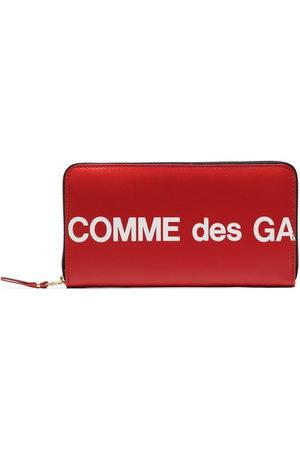 Comme des Garçons Geldbörsen & Etuis - Portemonnaie mit Logo-Print