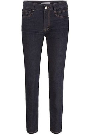 HUGO BOSS Slim-fit jeans in dark-blue comfort-stretch denim
